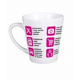 Kubek latte z nadrukiem Żona MD013