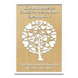 Drzewko na rocznicę ślubu MD1