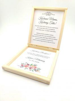 Pudełko z prośbą o błogosławieństwo MD1