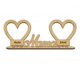 Ramka serduszka Mama MD002.02
