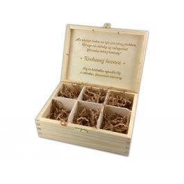 Herbaciarka z grawerem MD6.1