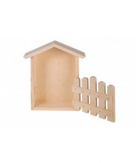 Domek z płotkiem
