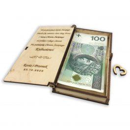 Pudełko na pieniądze MD3