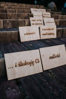 Tabliczki – przysięga małżeńska MD001
