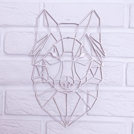Zwierzęta geometryczne – Wilk MD003