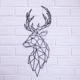 Zwierzęta geometryczne – Łoś (profil) MD005