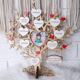 Drzewko dla Babci i Dziadka z miejscem na zdjęcie mini MD001.01m