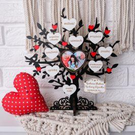 Drzewko dla Babci i Dziadka z miejscem na zdjęcie mini MD001.02m
