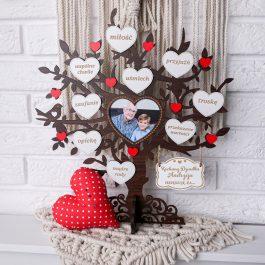 Drzewko dla Babci i Dziadka z miejscem na zdjęcie mini MD001.04m