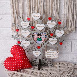 Drzewko dla Babci i Dziadka z miejscem na zdjęcie mini MD001.03m