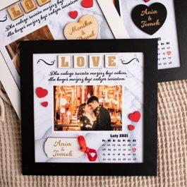 Ramka dla zakochanych Walentynki MD001.02