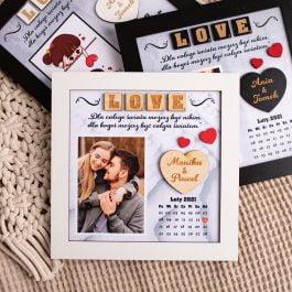 Ramka dla zakochanych Walentynki MD002.01