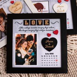 Ramka dla zakochanych Walentynki MD001.01