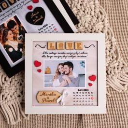Ramka dla zakochanych Walentynki MD002.02