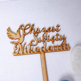 Topper Chrzest Święty MD2