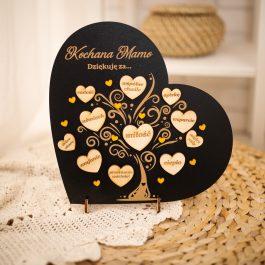 Ramka Serce dla Mamy lub Taty MD002