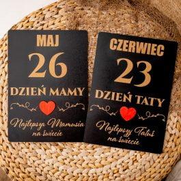 Tabliczka Dzień Mamy i Taty MD1
