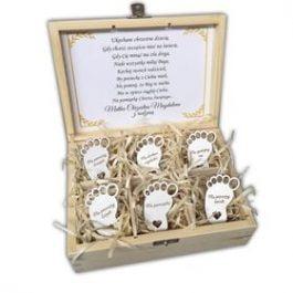 Pudełko Pamiątka Chrztu Św. MD001